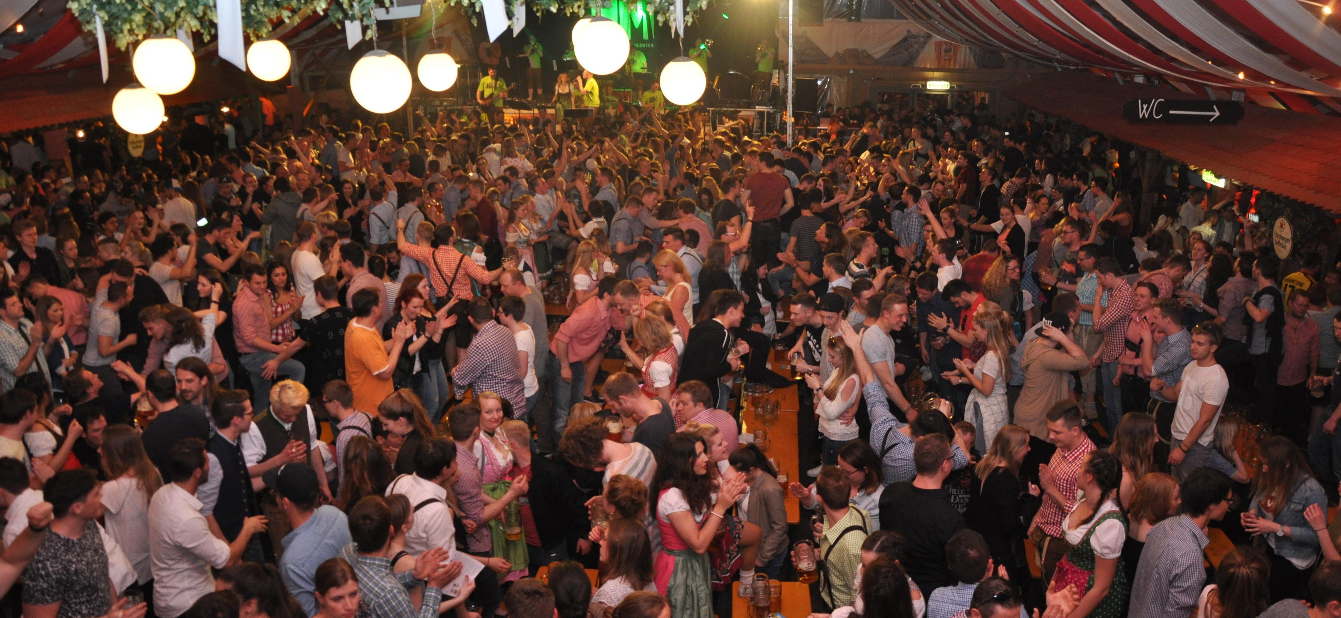 Frühjahrsvolksfest Würzburg 2017